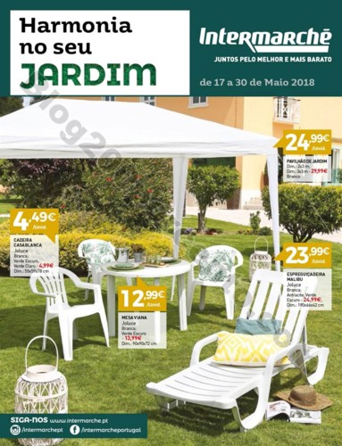 Antevisão Folheto INTERMARCHÉ Especial Jardim pr