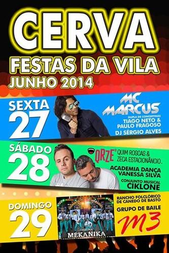 Vila de Cerva - Festa de S. Pedro