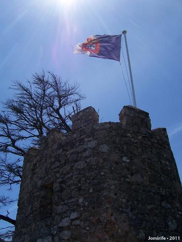 Sintra: Castelo dos Mouros - Bandeira