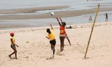 Voleibol de praia na miramar