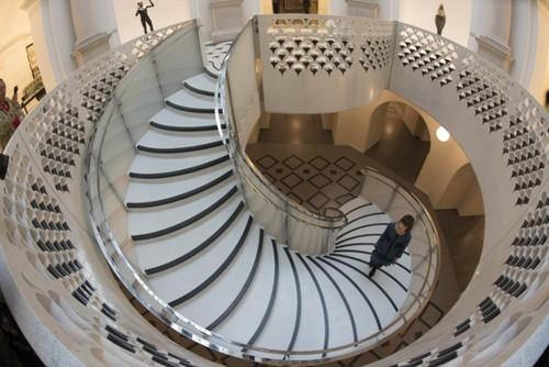 Escadaria da Tate Britain