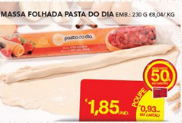 Pasta do Dia 50% Massa Folhada