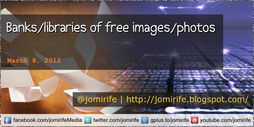 Blog: Banks/libraries of free images/photos