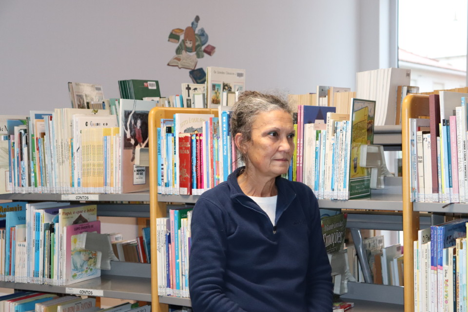 Anabela Anjos - Nova coordenadora da Biblioteca Mu