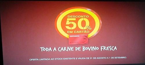50% em Carne Bovino Continente