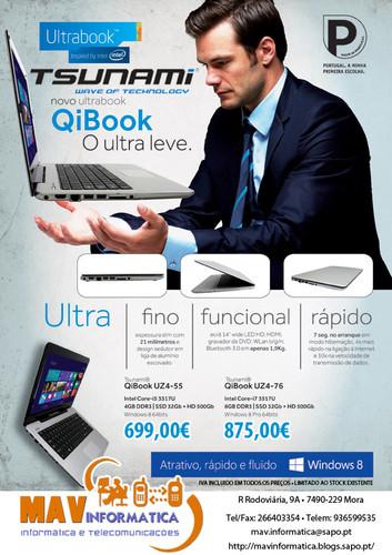 Tsunami Ultrabook QiBook - MAV Informática