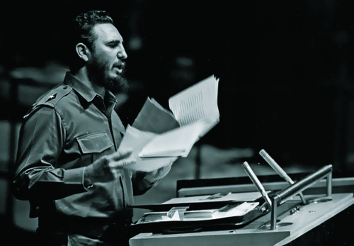 Fidel Castro 1960-09-26