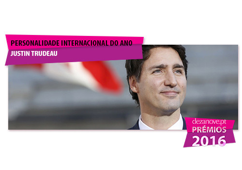 Personalidade Internacional do Ano - Justin Trudea