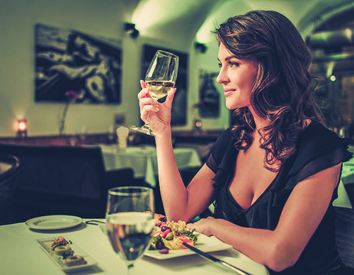 Comer fora durante a dieta