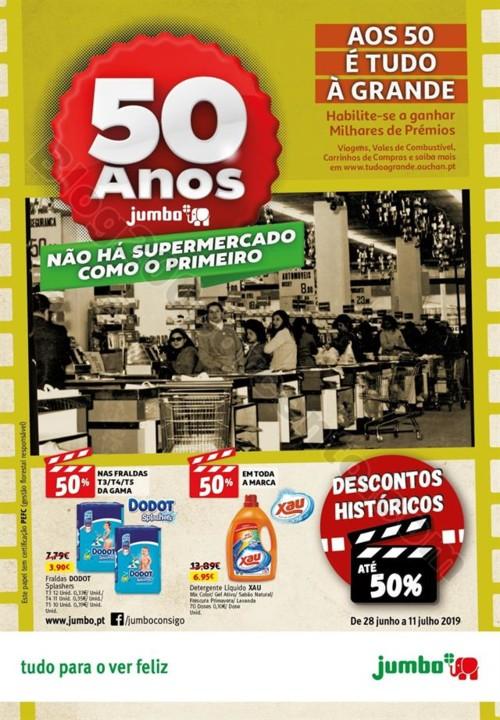 Antevisão Folheto JUMBO Promoções de 28 junho a