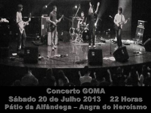 Os GOMA tocam no Pátio da Alfândega...