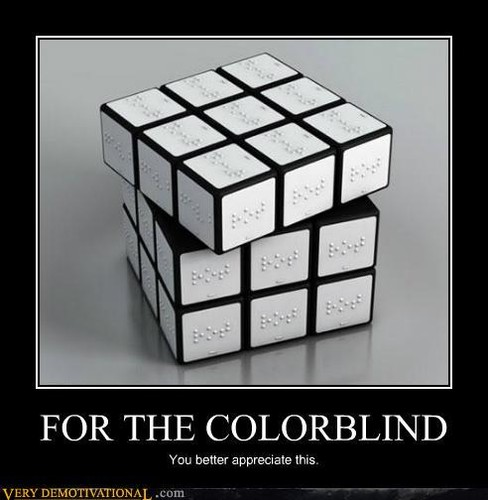 For The Colorblind