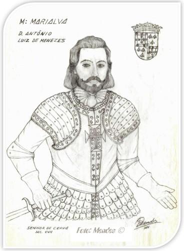 Cerva - D. António Luiz de Menezes