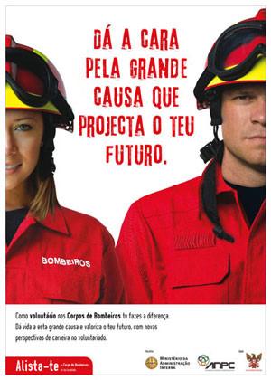 Seja voluntário nos bombeiros