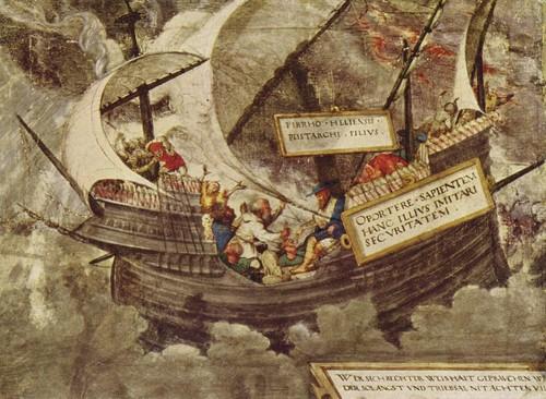 Petrarca-Meister_001 Pyrro enfrentado uma tormenta