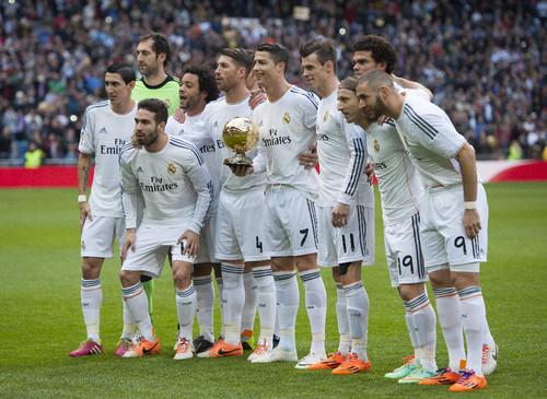 Bola de Ouro no Bernabéu 2014