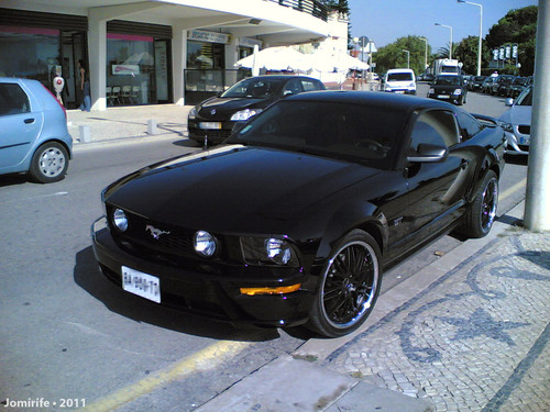 Ford Mustang na Figueira da Foz