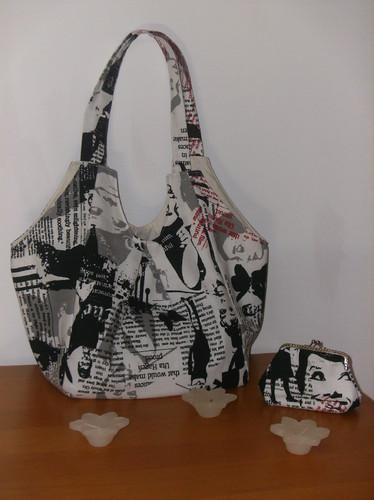 Bolsa De Tecido Com Fecho : Malas carteiras e bolsas em tecido vitaldecor trapos