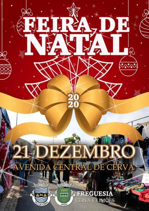 Vila de Cerva - Feira Anual de Natal.