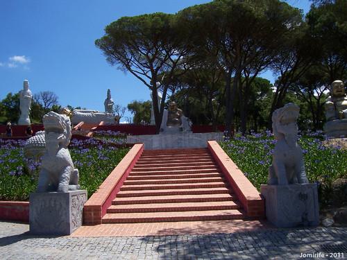 Jardim Buddha Eden - Buddha pequeno
