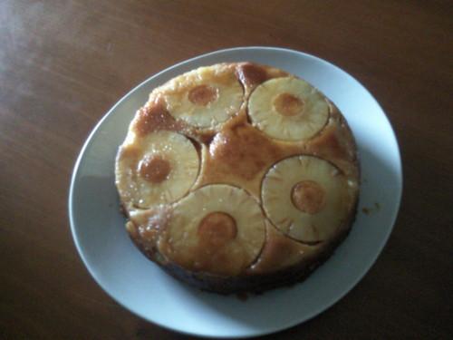 bolo de ananas