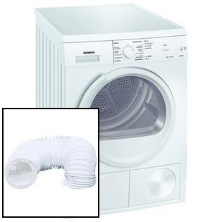 máquina de secar roupa por exaustão