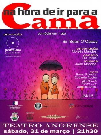 Amanhã à noite, no Teatro Angrense...