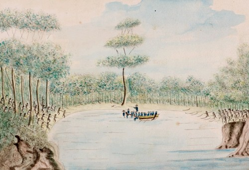 http://www.sl.nsw.gov.au/discover_collections/history_nation/terra_australis/education/bennelong/trial_bradley_text.html