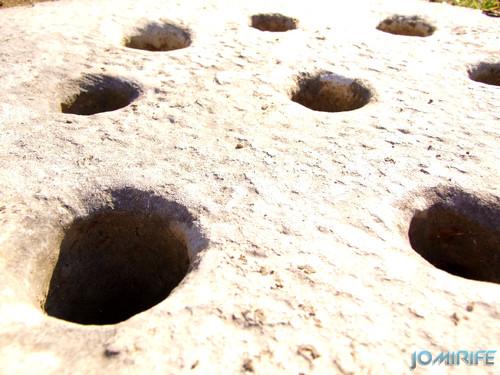 Texturas - Furos na pedra