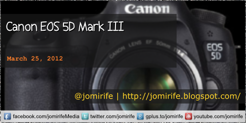 Blog: Canon EOS 5D Mark III