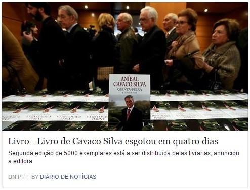 Cavaco esgota livro.jpg