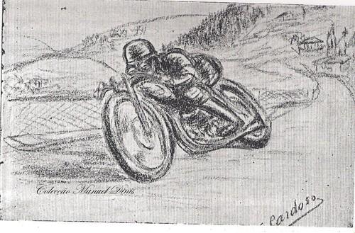 6º circuito de vila real motos 1950 um olhar sobre as corridas