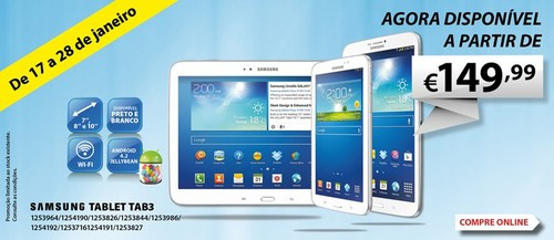 Promoção   RADIO POPULAR   Samsung TAB3