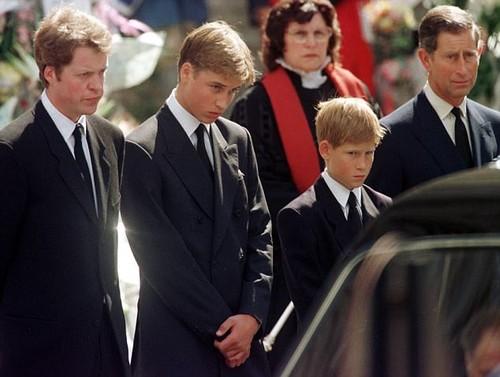 No funeral de Lady Di