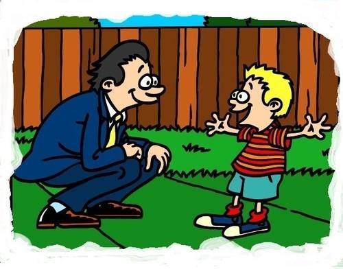 pai-com-filho-festas-dia-do-pai-pintado-por-imsham