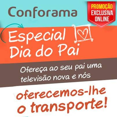 promo es conforama especial dia do pai oportunidades. Black Bedroom Furniture Sets. Home Design Ideas
