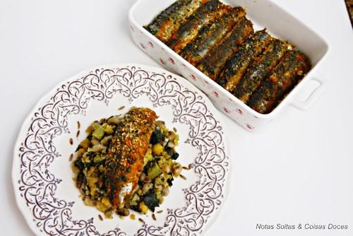 Filetes de sardinha no forno 1