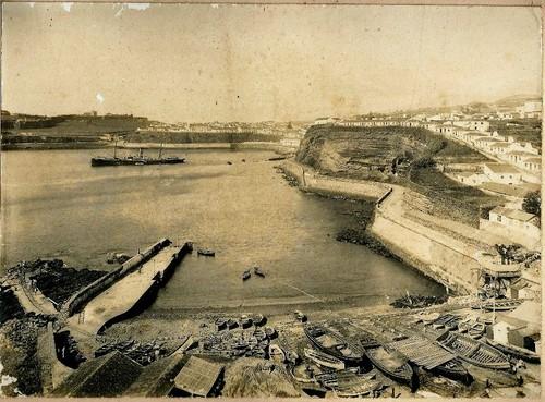 A baía de Angra, tal como era há 107 anos...
