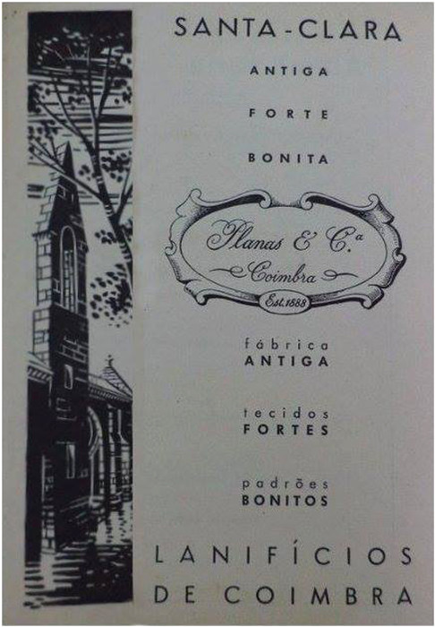 Fábrica de Lanifícios de Santa Clara, publicidad