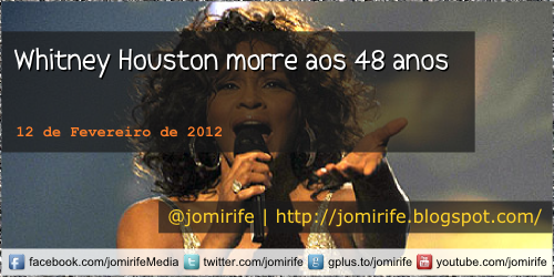 Blog: Whitney Houston morre aos 48 anos