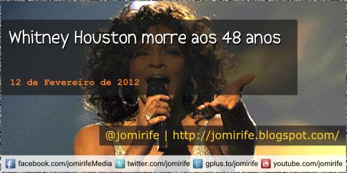 Blog: Whitney Houston morre aos 48 anos