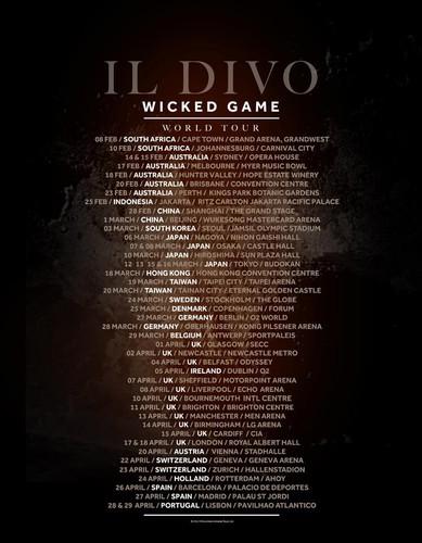 Il divo em portugal luizpaulopina for Il divo wicked game
