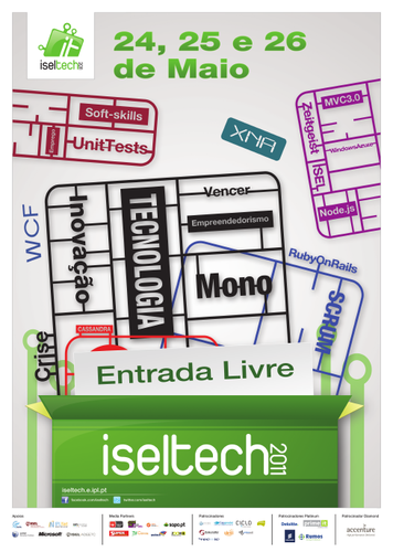 Cartaz ISEL Tech 2011
