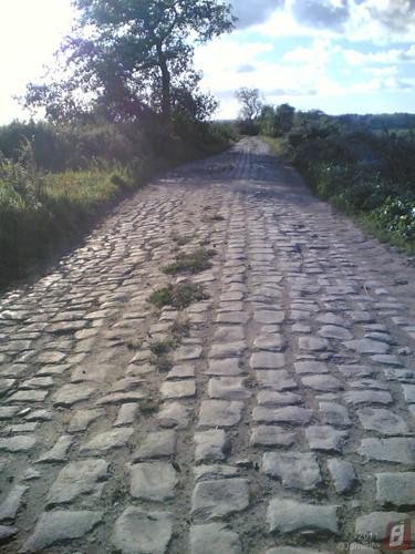 Antiga estrada de pedra de acesso campos, Maiorca