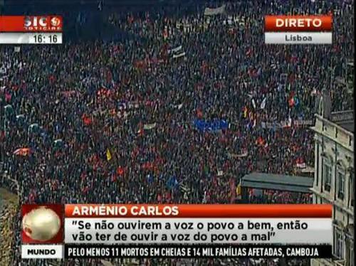 A voz do Povo em Lisboa