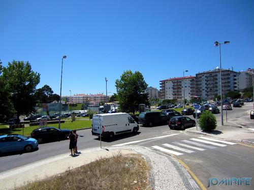 Trânsito congestionado na Figueira da Foz (1) [en] Traffic congestion in Figueira da Foz, Portugal