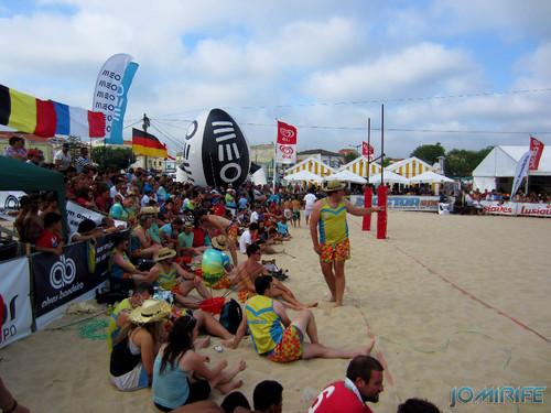 Figueira da Foz Beach Rugby 2013 - Jogo da final (3) Bancadas / Final Game Benches