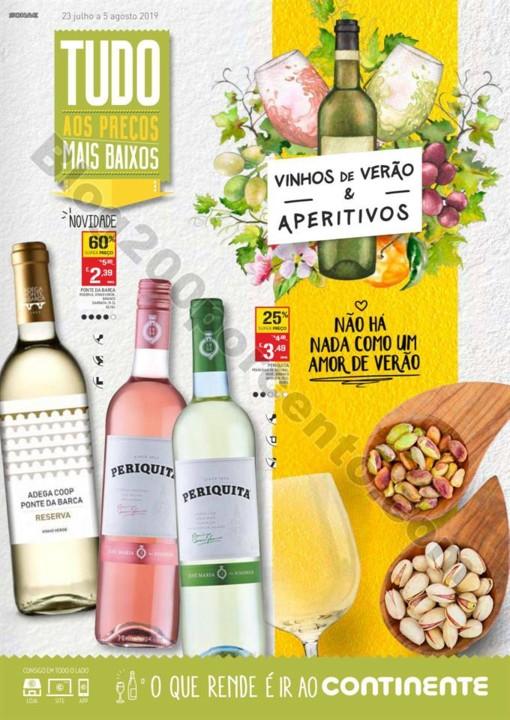 Antevisão Folheto CONTINENTE Bebidas 23 julho a 5