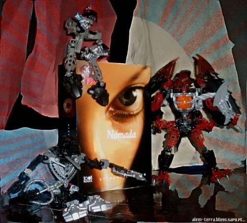 Nómada – Stephenie Meyer + Lego Bionicle
