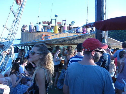 Festival boat party